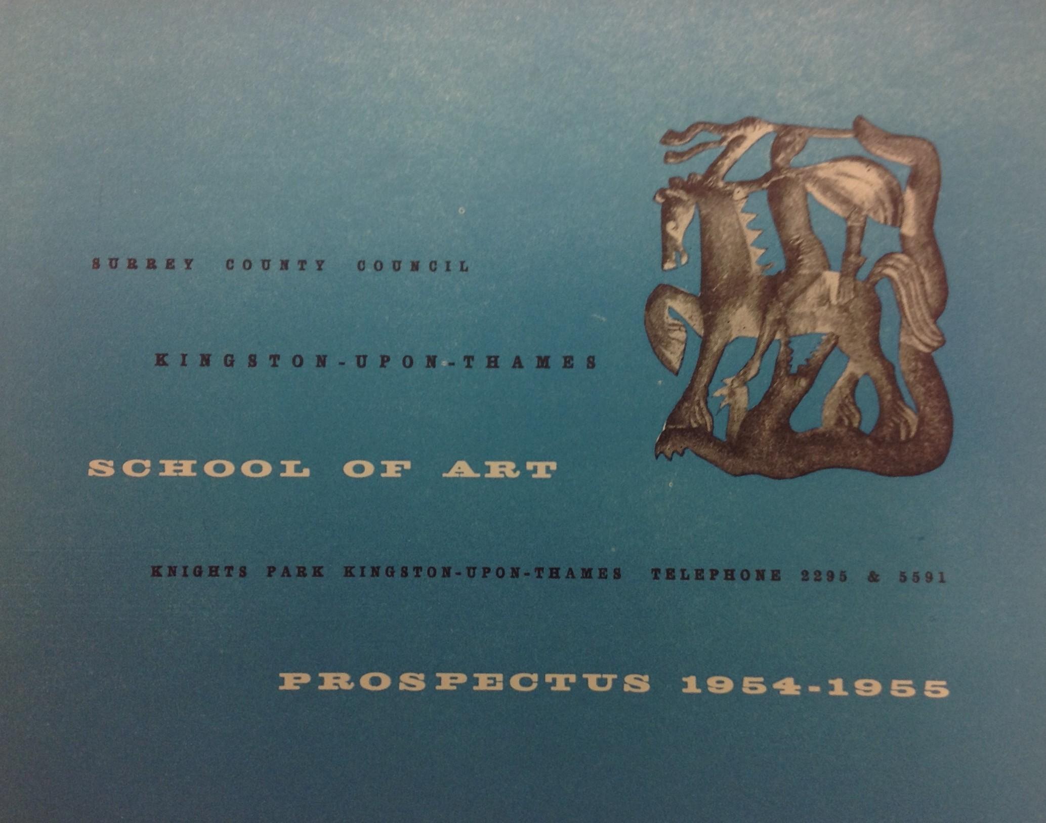1954-1955 KSA Prospectus
