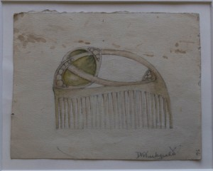 Denise Tuckfield, Design for Comb. Image courtesy of Kingston Museum
