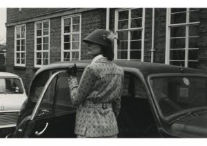 Fashion Shoot at Knights Park c1971 Image Kingston University