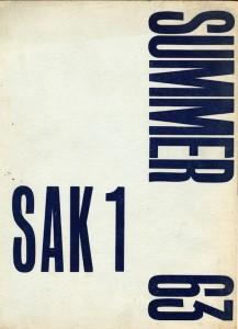 116. A-SAK1 Summer 1963 Simon Dray