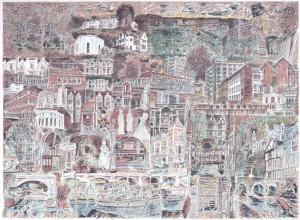 128. Richard Demarco Kingston print