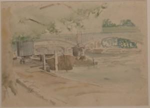 69. Warner Cooke River Scene
