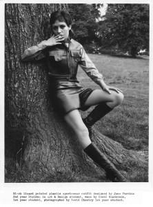 Carol Sanderson modelling June Purchas - 1