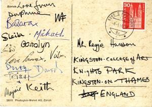 KMCAT024_St Gall Postcard 8th March 66