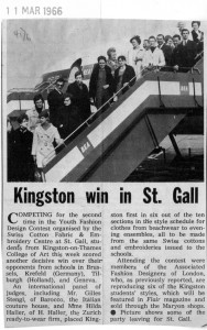 KMCAT032_St Gall 1966_Drapery & Fashion Weekly Cutting