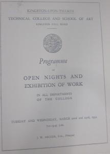 Open Nights 1932