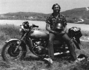 Paul Wood Motorbike
