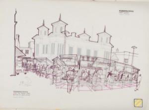 Robert Voticky, Kingston Market Project, 1970