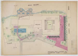 Robert Voticky, Kingston Polytechnic Knights Park Landscape Plan
