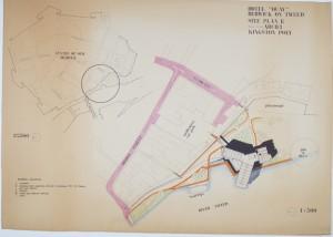 Robert Voticky, Site Plan for Hotel 'Quay' development, Berwick upon Tweed