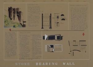 Derek Stow, Stone Bearing Wall