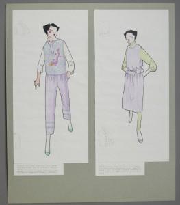 Trevira suit designs