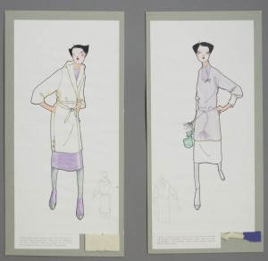 Sash-fashioned coat; Silky rayon overshirt with kimono sleeves
