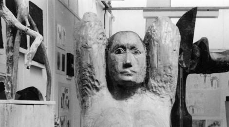 Sculpture at Canbury Park Road Studios