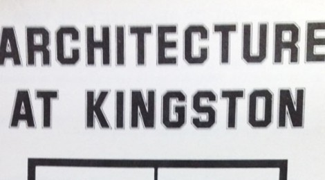 Architecture at Kingston Festival Poster
