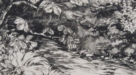 Barbara Constance Freeman, sketch of Hogsmill 1926