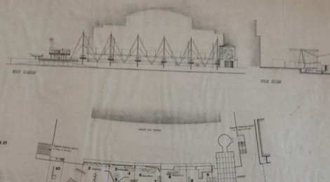 Festival of Britain, Seaside section architect's plan