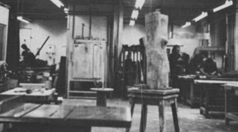 Fine Art Studios in 1973