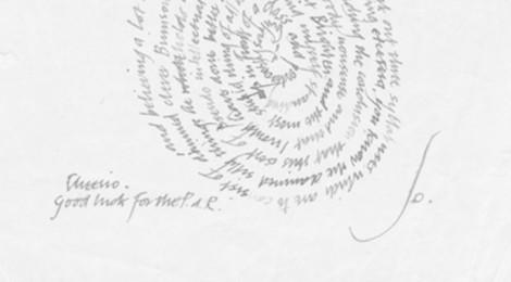 Jo Ledger letter 1940s
