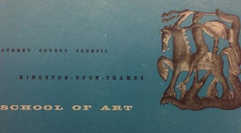 1955/1956 Kingston School of Art Prospectus