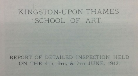 Board of Education Inspection, May 1919