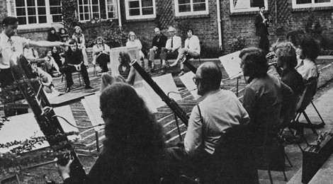 Music performance in the Quad