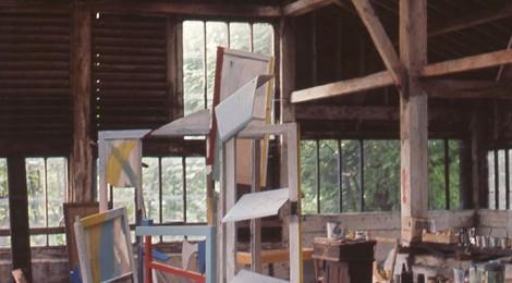 David Nash at Coombe Farm annexe