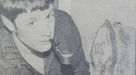 Students' art show, June 1964 - newspaper cutting