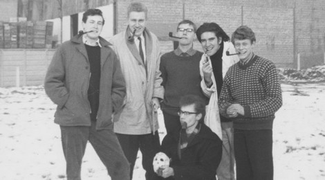 Basic Design students, 1950s