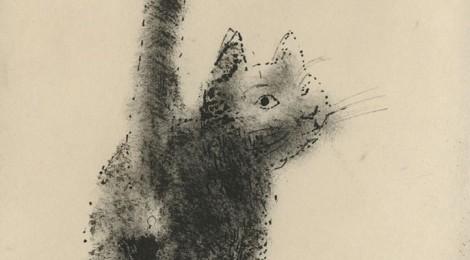 Reginald Brill, Drawing of a Cat