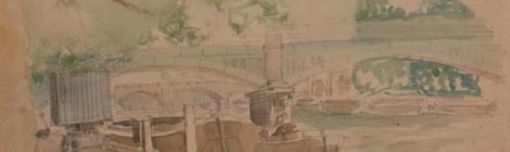 Warner Cooke, River Scene Richmond