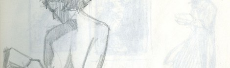 Barbara Freeman Sketchbook pages