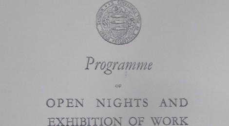 Programme of Open Night 1932