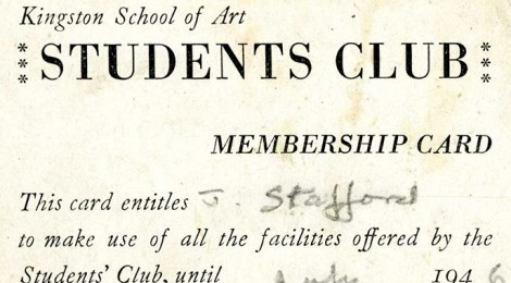 Kingston School of Art Students Club